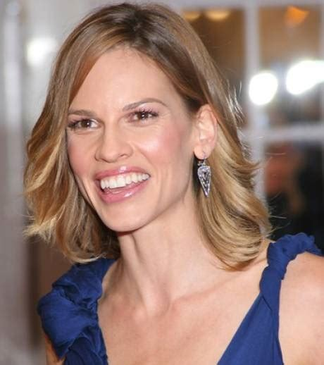 Hilary Swank W Covergirl by Photo Hilary Swank Opte Pour Un Maquillage Discret Qui