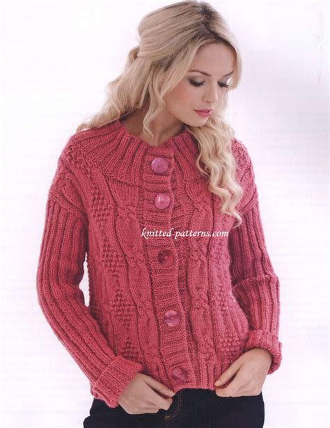 knitting jacket free s jackets knitting patterns