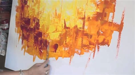 pintar un cuadro abstracto monitor gabriela mensaque pintura cuadro abstracto