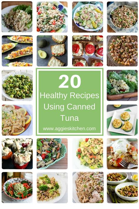 healthy recipes using canned tuna