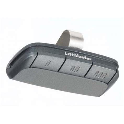 Garage Door Opener Remote Liftmaster Battery Liftmaster 895max Visor Style Garage Door Remote