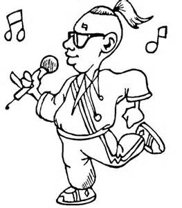cartoon microphone coloring sheet coloring coloring pages