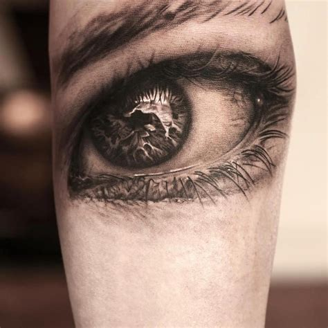 tattoo eye black and grey 17 eye tattoos on forearm