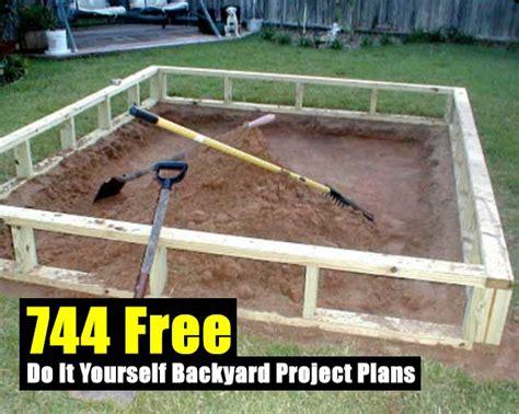 Do It Yourself Backyard by 744 Free Do It Yourself Backyard Project Plans Shtf