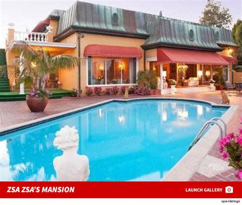 zsa zsa gabor s mansion going up for sale pricey pads zsa zsa gabor s husband has to move out of their home
