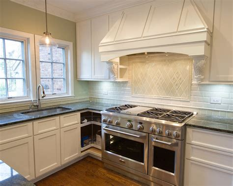 traditional kitchen backsplash traditional kitchen with inset cabinets by subway tile