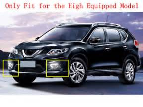 Nissan Rogue Daytime Running Lights Fog Light Daytime Running Light Drl Led Day Light For