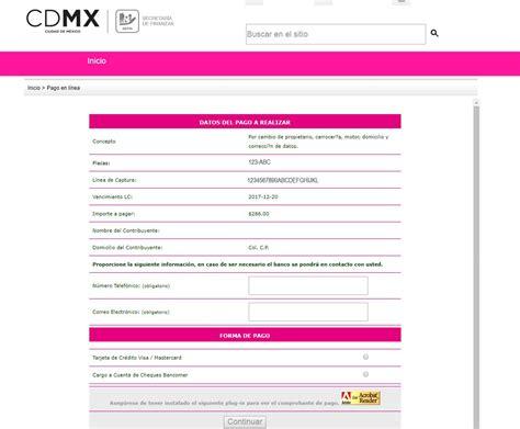 formato para poder pagar mi tenencia 20016 tr 225 mite de placas en la cmdx todo lo que necesitas saber