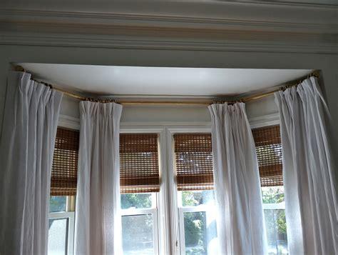 hinged curtain rod hinged curtain rod for bay window home design ideas