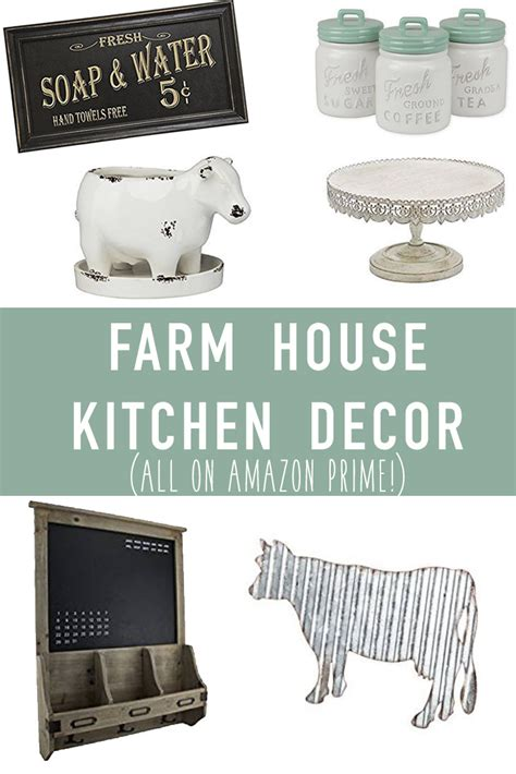 kitchen amazon farmhouse kitchen decor on amazon its pam del
