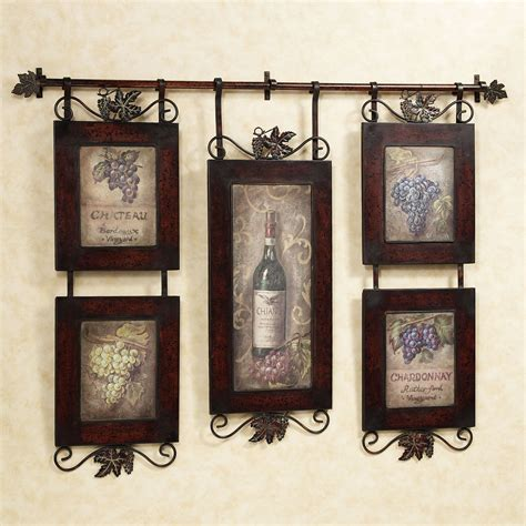 ideas for kitchen wall decor emilion wine wall wall decor kitchens and walls