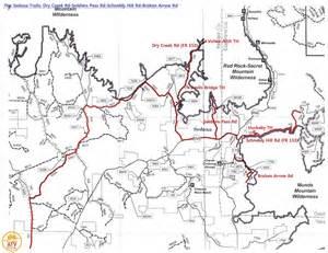 arizona atv trails map trails in sedona i enjoy atv through the rocks