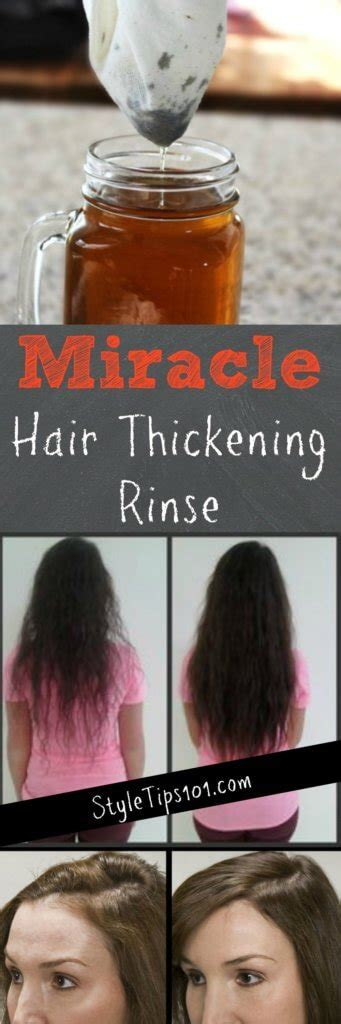 homemade hair thickeners how to get thicker hair naturally a diy hair thickening mask