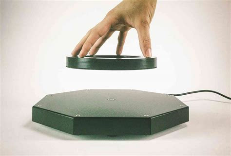 this levitating shelf can levitate objects with up to 20
