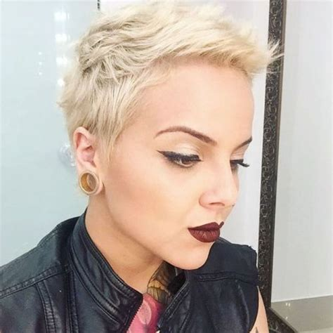 how t style very short spiked hair very short spiky hairstyles for women over 60 short