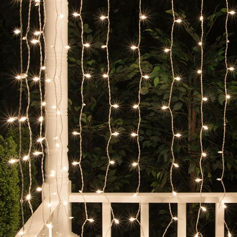 mini window icicle lights christmas icicle light 150 lite curtain mini light set