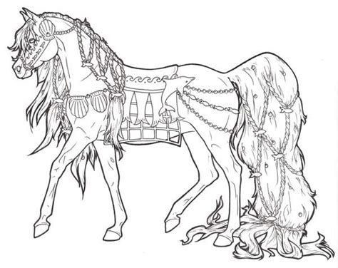 hard coloring pages of horses hard horse coloring pages sketch coloring page