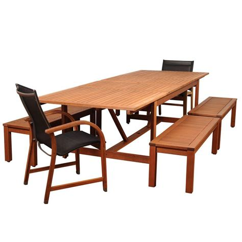 7pc Patio Dining Set Hton Bay Middletown 7 Patio Dining Set With Chili Cushions D11200 7pc The Home Depot