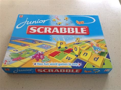 scrabble junior scrabble junior by mattel for sale in stillorgan