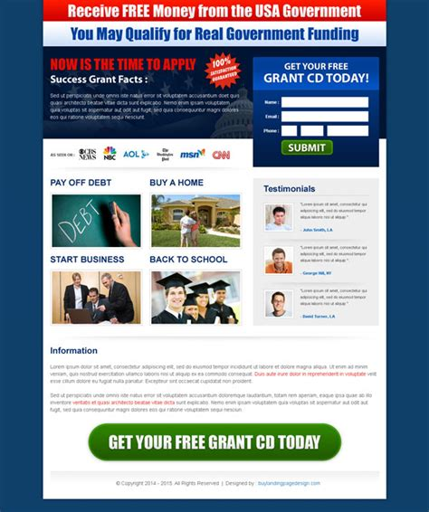 top 50 landing page designs 2014 to increase conversion