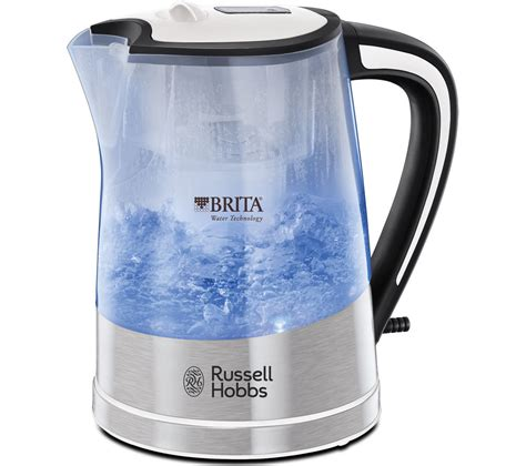 brita filter kettle small kitchen appliance electric buy russell hobbs purity 22851 jug kettle transparent