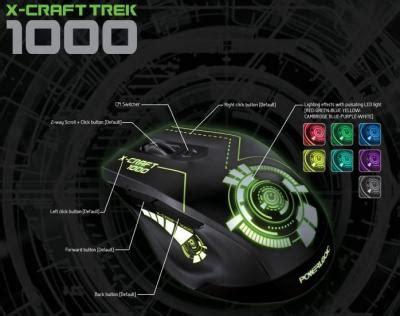 Powerlogic Mouse X Craft Twilight 2000 wts powerlogic xcraft mouse