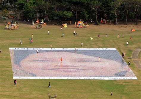 Philippine Charity Sweepstakes Office Contact Number - largest photo mosaic world record set by the philippines