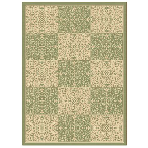tuscan rug balta rugs patio collection tuscan squares green 8x11
