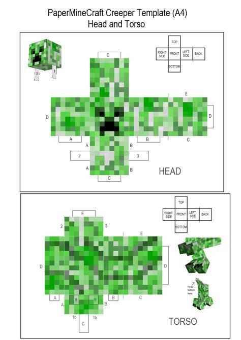 Minecraft Creeper Papercraft - stothe standardized papercraft 2 4 other fan fan