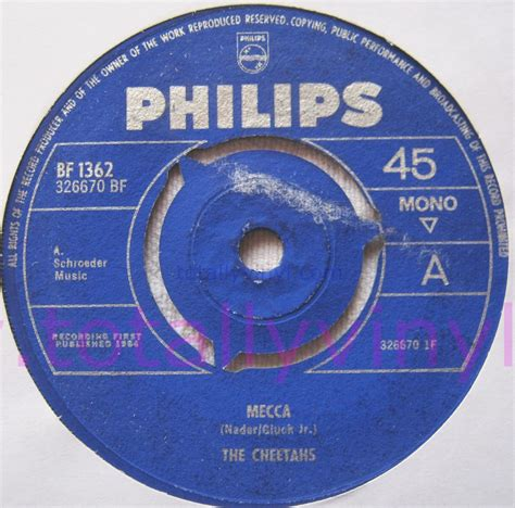 Where Was The Mecca Of Vinyl - totally vinyl records cheetahs the mecca 7 inch vinyl