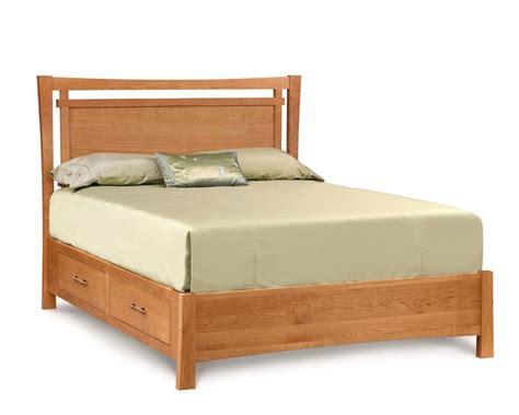 copeland bed copeland monterey storage bed ohio hardwood furniture