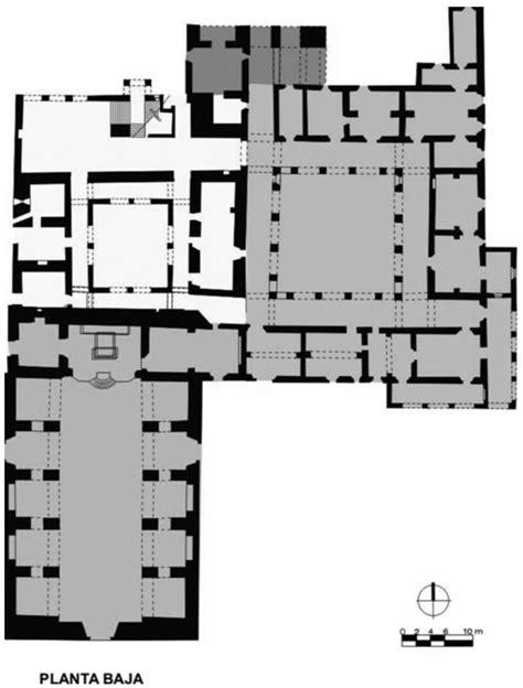 | plano del convento de San Francisco en Conkal, basado en