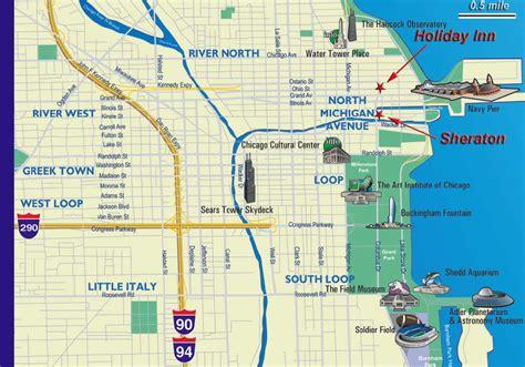 chicago mapa mapa tur 237 stico de chicago dicas de york