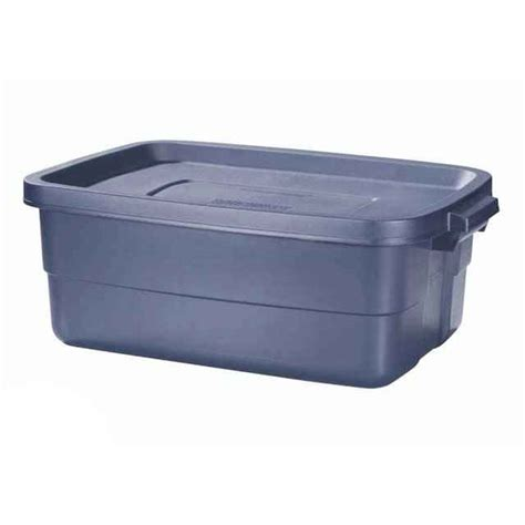 Blue Rubbermaid Small blue rubbermaid roughneck 10 gallon tote