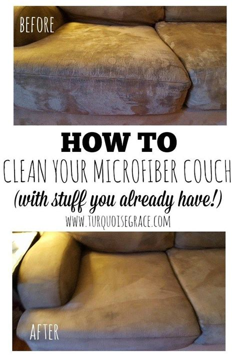 best way to clean microfiber sofa 17 best ideas about couch cleaning on pinterest cleaning