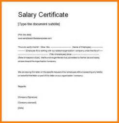 Certification Letter Doc 9 How To Make Salary Certificate Daily Chore Checklist