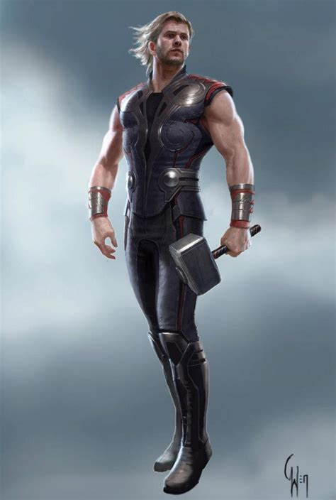 Quilsilver Falcon Date Chain image thor concept 2 jpg disney wiki