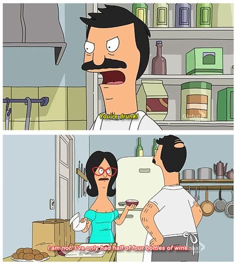 Bobs Burgers Meme - bob is angry linda s been drinking wine instead of helping