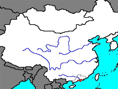 physical map of china bing images