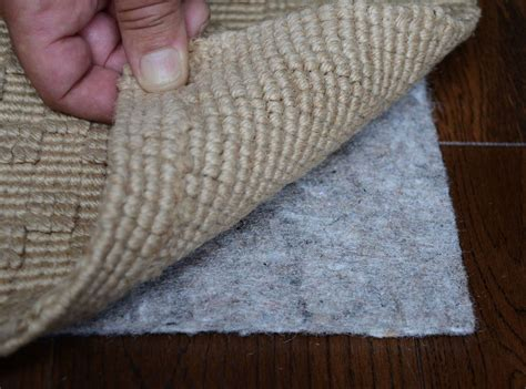 mohawk rug pad genuine mohawk 20 oz felt rug pad rectangle sizes 1 4 quot thick ebay
