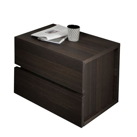 L For Nightstand Rossetto Gola Nightstand In Termotrattato Oak T401202000082