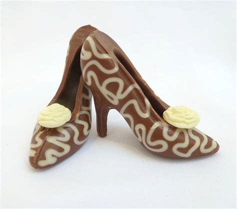 Chocolate And Shoes Be Still My by Small Chocolate Shoes White Lace By Clifton Cakes