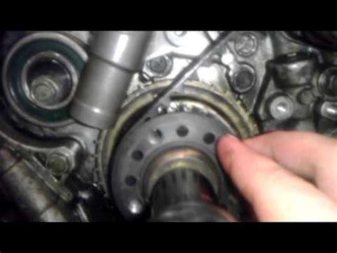 change timing belt    engine