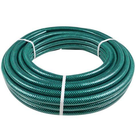 Standard Garden Hose Size by Green Jem 15m Length Braided Green Garden Hose Pipe