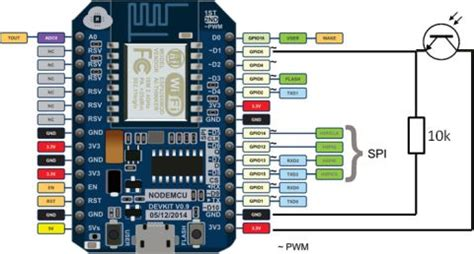 resistor interno arduino power meter pulse logger with esp8266 running nodemcu patrik thalin arduino raspberry pi