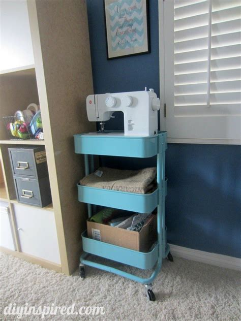 ikea craft cart craft room ideas diy inspired