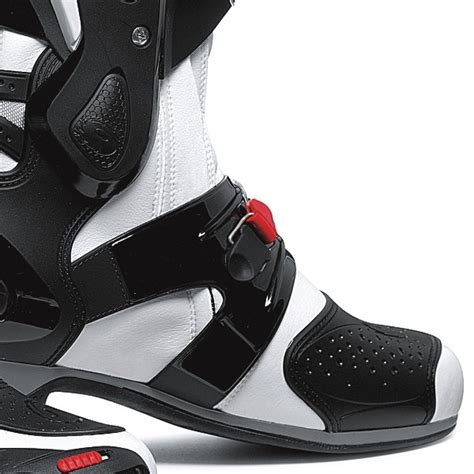 high end motorcycle boots sidi vortice motorcycle boots white black ebay
