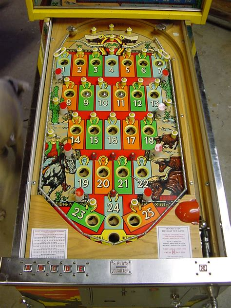 bally bingo machine pinball repair kems