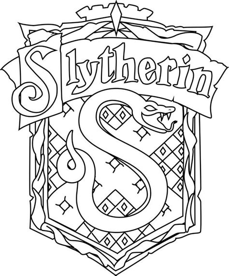 harry potter coloring book periplus for gt harry potter slytherin coloring pages az coloring