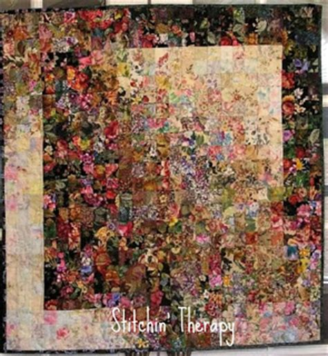 Watercolor Quilts Patterns by Stitchin Therapy Watercolor Quilts